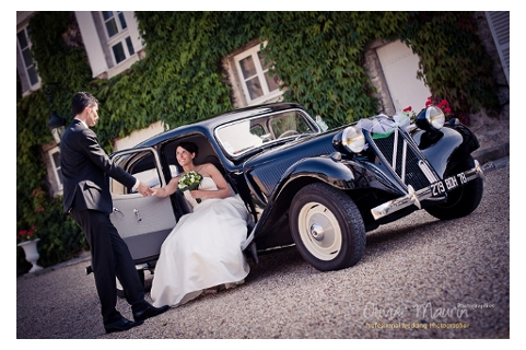 mariage en location d 39 une citro n traction avant 11 b en ile de france. Black Bedroom Furniture Sets. Home Design Ideas